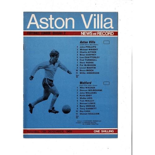 Watford Away Football Programmes