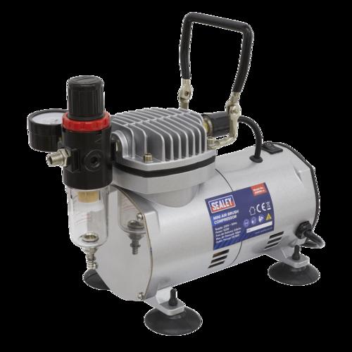 Mini Air Brush Compressor - Sealey - AB900