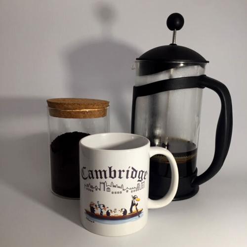 'Punting in Cambridge' Mug