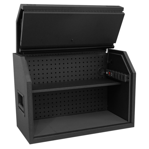Toolbox Hutch 910mm with Power Strip - Sealey - AP36HBE