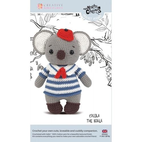 Knitty Critters - Crochet Friends - Cocola The Koala