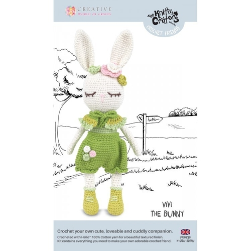 Knitty Critters - Crochet Friends - Vivi The Bunny