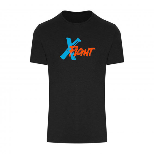 X Fight T-Shirt - Black