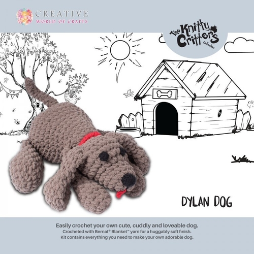 Knitty Critters - Dog - Dylan