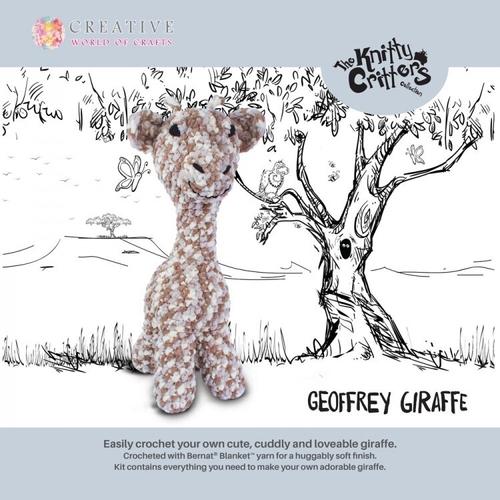 Knitty Critters - Giraffe - Geoffrey