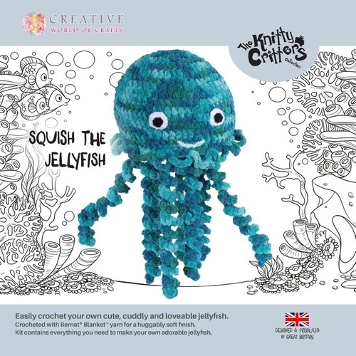 Knitty Critters - Jellyfish - Squish