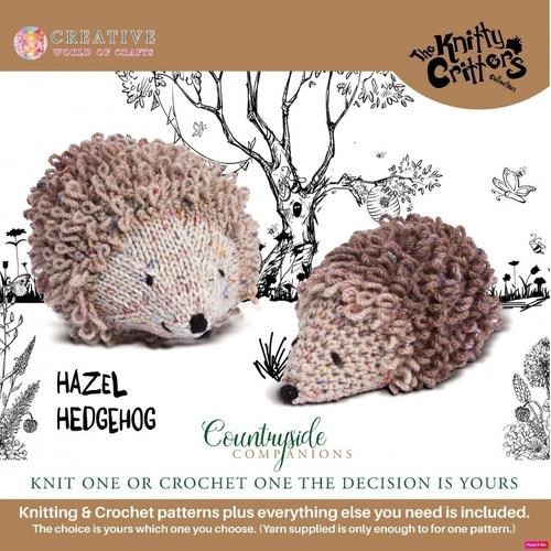 Knitty Critters - Countryside Companions - Hazel Hedgehog
