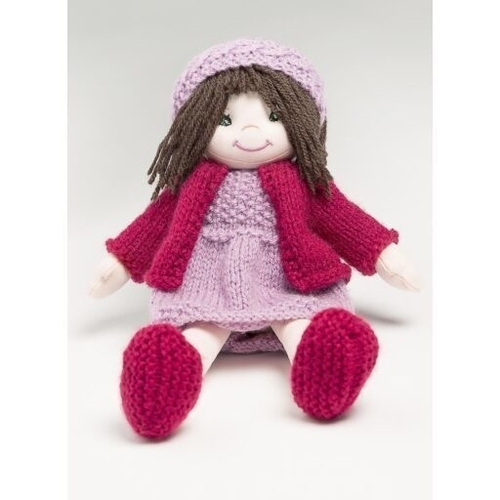 Bergere Lina Doll - Raspberry Outfit