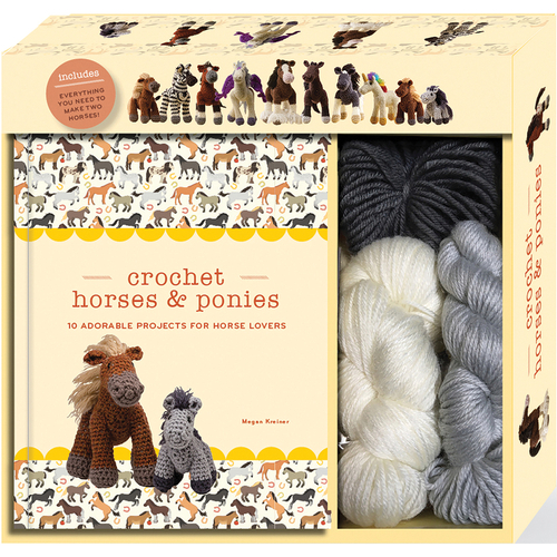 Crochet Horse & Ponies Kit