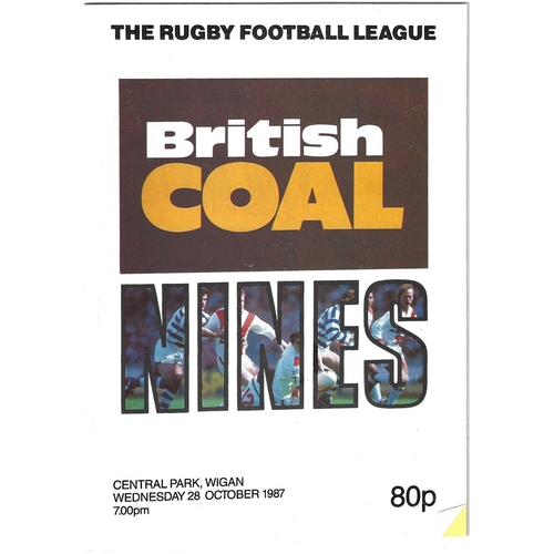 1987 Rugby League Nines Programme