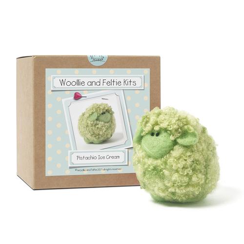 Pistachio Sheep Needle Felting Kit
