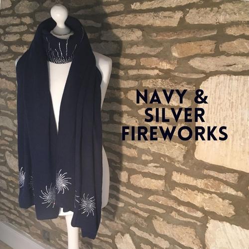 Cashmere firework wrap
