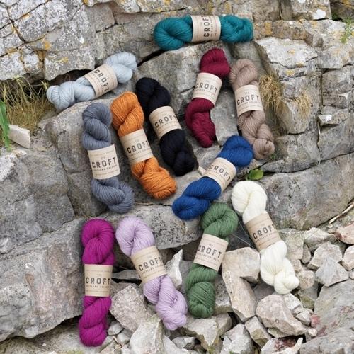 WYSpinners The Croft - Shetland Colours Aran