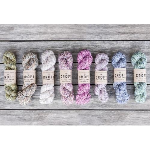 WYSpinners The Croft - Shetland Tweed Aran