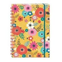 A5 Hardcover Notebook - Flowers