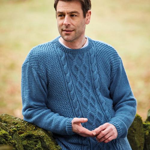 Aran Sweater Pattern 10078