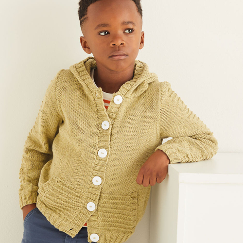 Child's Hooded Jacket Pattern 2547