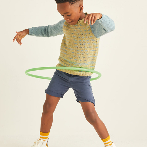Child's Hooped Sweater Pattern 2539