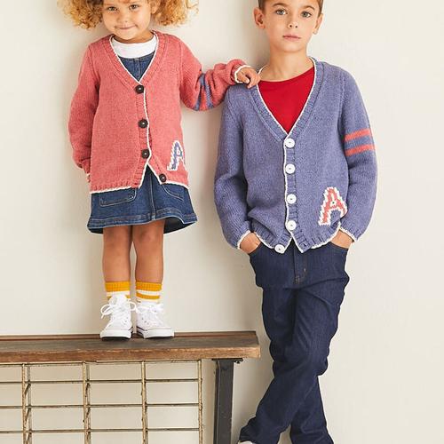 Child's Cardigan Pattern 2535