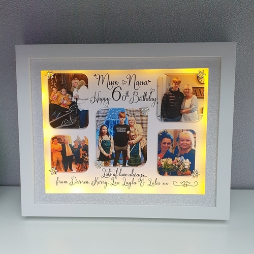 Personalised Birthday/memory picture Frame