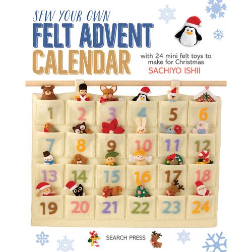 Sew Your Own Felt Advent Calendar
