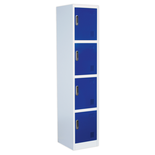 Locker 4 Door - Sealey - SL4D
