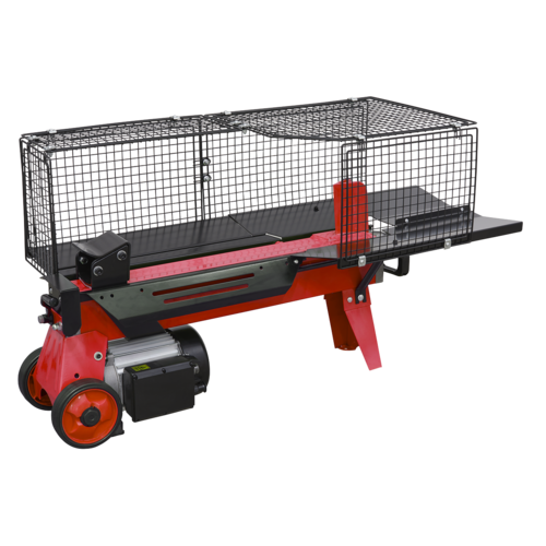 Horizontal Log Splitter 4tonne 370mm Capacity - Sealey - LS520H