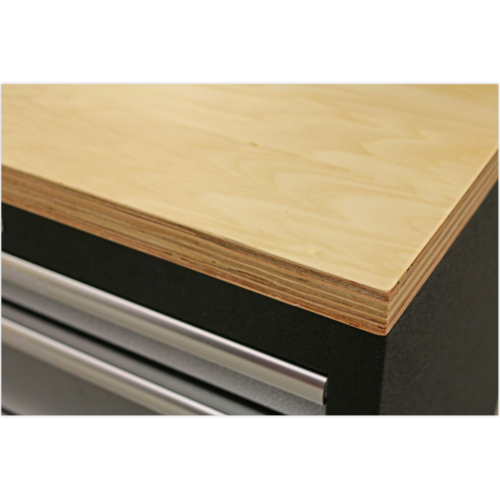Pressed Wood Worktop 2040mm - Sealey - APMS50WC