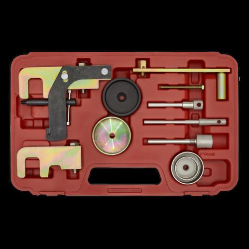 Diesel Engine Timing Tool Kit - Renault, Nissan, Suzuki, GM 1.5D, 1.9D, 2.2D, 2 - Sealey - VSE5871A