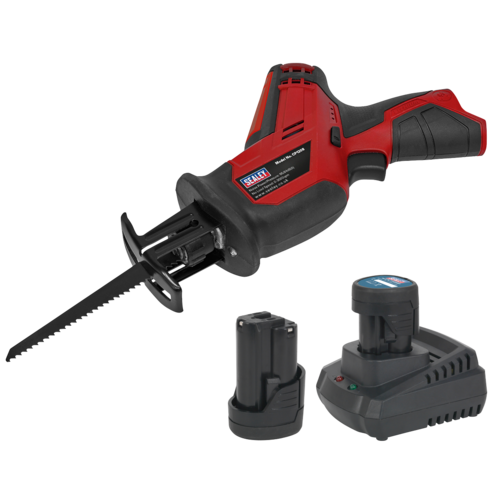 Cordless Reciprocating Saw 12V - 2 Batteries - Sealey - CP1208KIT