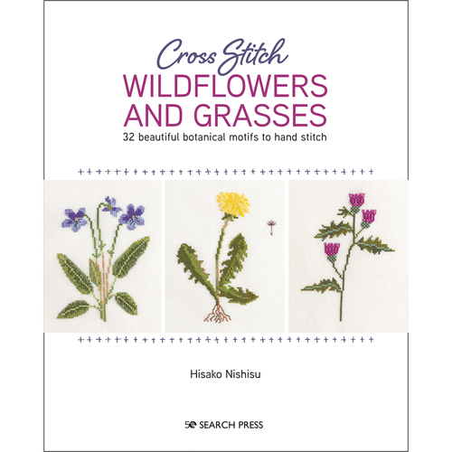 Cross Stitch Wildflowers and Grasses