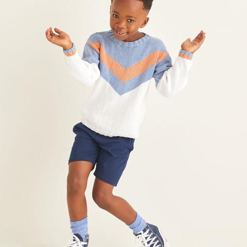 Child's Sweater Pattern 2531