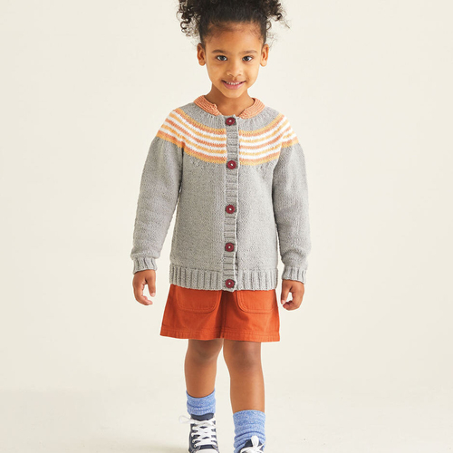 Child's Cardigan Pattern 2528