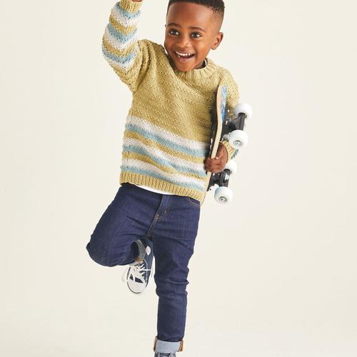 Child's Sweater Pattern 2527
