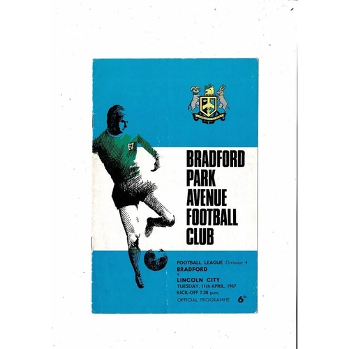 Lincoln City Away Football Programmes