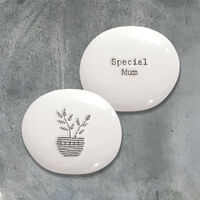 East Of India Porcelain Pebble- Special Mum