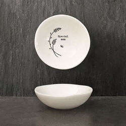 East Of India Sml hedgerow bowl-Special mum