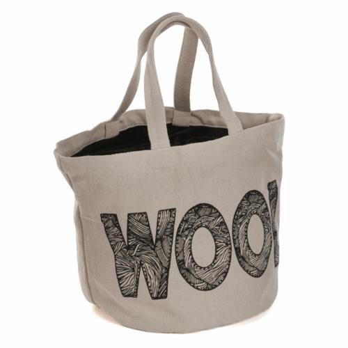 Bucket Bag 'Wool' Logo