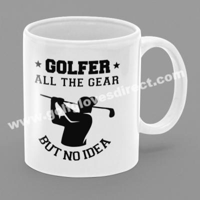 Golfer All The Gear But No Idea