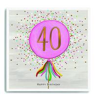 Age 40 Birthday