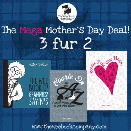 Wee Book's - The Mega Mother's Day Deal - 3 fur 2!