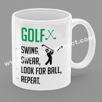 Golf - Swing, Swear, Look For Ball, repeat