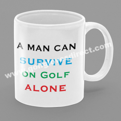 A Man Can Survive On Golf Alone
