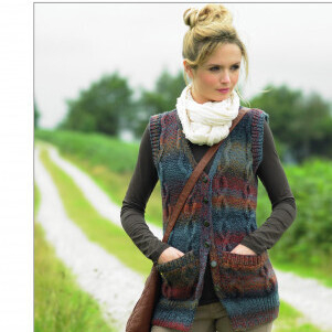 Chunky Waistcoat Pattern JB337