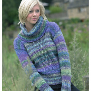 Chunky Sweater Pattern JB024