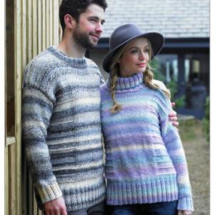 Chunky Sweater Pattern JB369