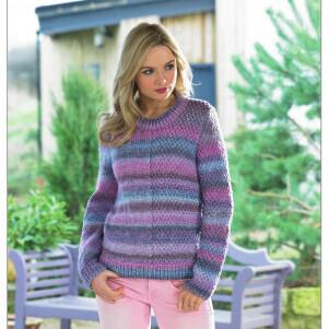 Chunky Sweater Pattern JB437