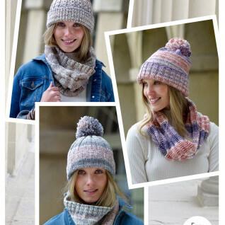 Aran Hats/Snoods Pattern 5270