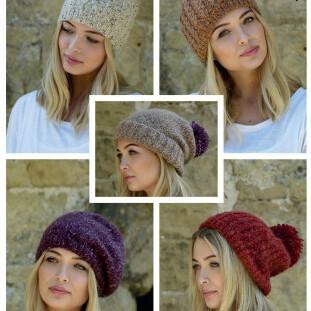Chunky Hats Pattern 4864