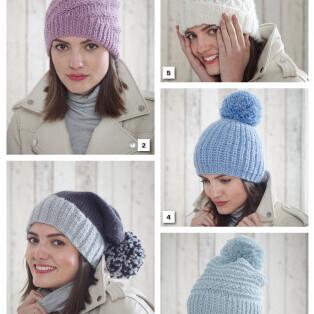 Chunky Hats Pattern 5185
